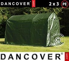 Portable Garage Storage tent PRO 2x3x2 m PE, Green