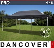 Racing tents Pop up gazebo FleXtents PRO 4x8 m Black