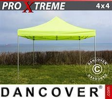 Racing tents Pop up gazebo FleXtents Xtreme 4x4 m Neon yellow/green