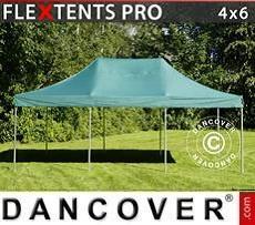 Racing tents Pop up gazebo FleXtents PRO 4x6 m Green