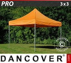 Racing tents Pop up gazebo FleXtents PRO 3x3 m Orange