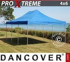 Racing tents Pop up gazebo FleXtents Xtreme 4x6 m Blue