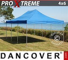 Racing tents Pop up gazebo FleXtents Xtreme 4x6 m Blue