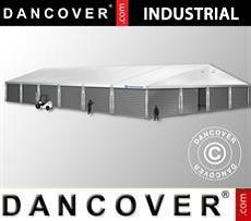 Storage buildings Industrial Storage Hall 20x30x8,04 m w/sliding gate, PVC/Metal, White