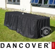 Tablecloth 244x76x74 cm, Black