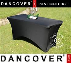 Stretch table cover, 150x72x74 cm, Black