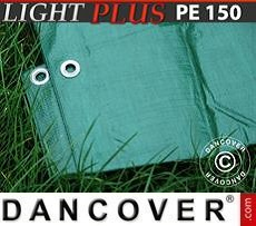 Tarpaulin 6x10 m PE 150 g/m² Green