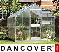 Greenhouse Glass Juliana Junior 8.3 m², 2.77x2.98x2.57 m, Aluminium