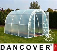 Polytunnel Greenhouse 2.2x5x1.9 m, 11 m², Transparent