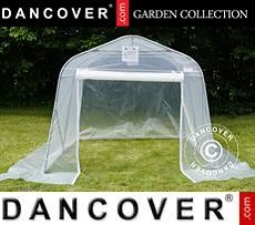 Polytunnel greenhouse, 2.4x3.6x2.4 m, PE, 8.6 m², Transparent