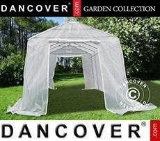 Polytunnel greenhouse, 3.3x6x2.4 m, PE, 19.8 m², Transparent