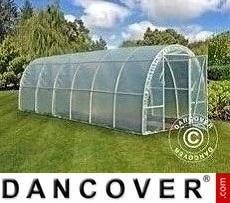 Polytunnel Greenhouse 2.2x6x1.9 m, 13.2 m², Transparent