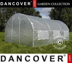 Polytunnel Greenhouse 3x4.5x2 m, 13.5m², Transparent