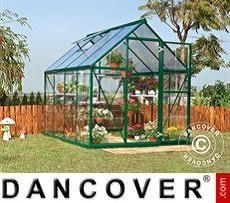 Greenhouse polycarbonate Harmony 5.6 m², 1.85x3.06x2.08 m, Green