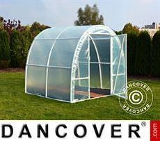 Polytunnel Greenhouse 2.2x2x1.9 m, 4.4 m², Transparent
