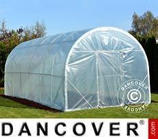 Polytunnel Greenhouse 3x6x2.4 m, 18 m², Transparent