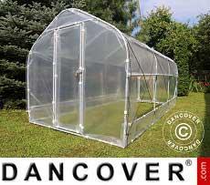 Polytunnel Greenhouse SEMI PRO Plus 3x6.25x2.15 m