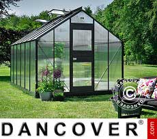 Greenhouse Polycarbonate Juliana Junior 12.1 m², 2.77x4.41x2.57 m, Anthracite