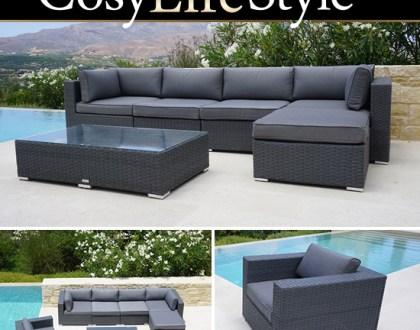 Polyrattan-Gartenmöbel von CosyLifeStyle by Dancover