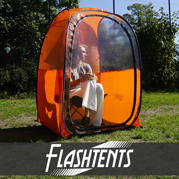 Das Zuschauer-Faltzelt für Sportveranstaltungen im Freien und mehr!