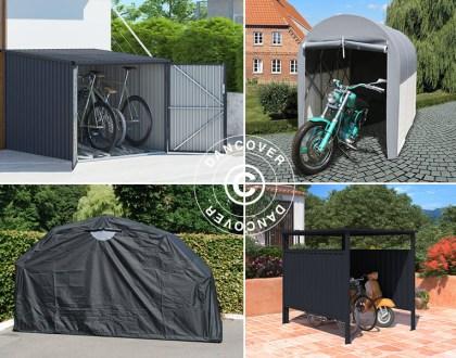 Lagerzelten, Fahrradunterständen, Faltgaragen, Fahrradboxen, Fahrrad, Fahrradunterstand, Metallschuppen, Fahrräder, Fahrradbox von Dancover, Fahrraddieben, Fahrradbox, Dancover, Dancovershop