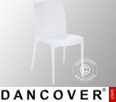 Stuhl, Boheme, Weiß, 6 Stück