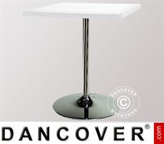 Tisch Liú quadratisch Weiß