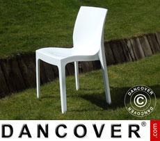 Stuhl, Ice, Weiß glänzend, 6 Stück