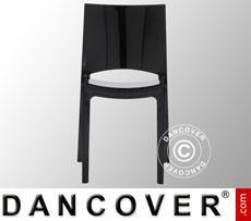 Stuhl, Sunshine, Schwarz glänzend, 18 Stück