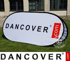 Pop up banner, Premium, 200x100cm