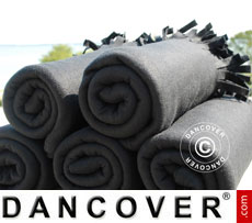 Fleece-Decke (10 Stck.), schwarz