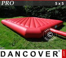 Hüpfkissen 5x5m, Rot, Beständige Mietqualität