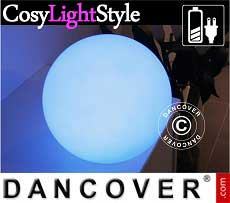 Kugelleuchte LED, Ø20cm, Mehrfachfunktion, mehrfarbig