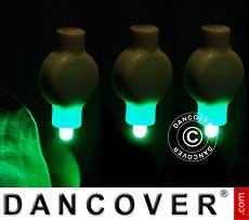 LED-Licht für Papierlaterne, 20 Stück, grün