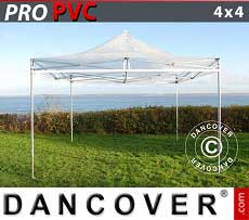 Faltzelt FleXtents PRO 4x4m Transparent