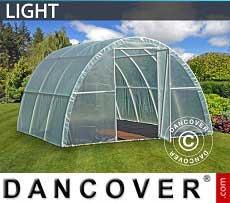 Foliengewächshaus Light 3x3,6x1,9m, Durchsichtig