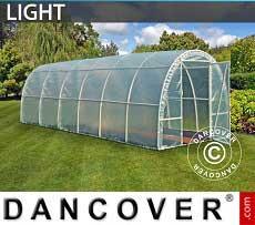 Foliengewächshaus Light 2,2x6x1,9m, Durchsichtig