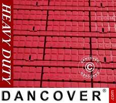 Fußbodenbelag, Heavy duty, rot 72m²