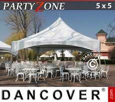 Partyzelt PartyZone 5x5 m PVC