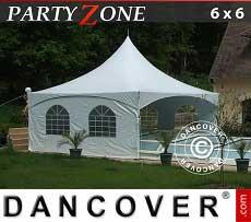 Partyzelt PartyZone 6x6 m aus PVC