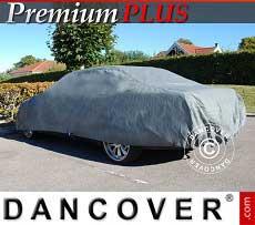 Autoschutzhülle Premium Plus, 4,7x1,66x1,27m, Grau