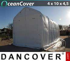 Bootszelt Oceancover 4x10x3,5x4,5m, Weiß