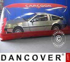 Carcoon 5,6x2 m Durchsichtig/Rot, Innenbereich
