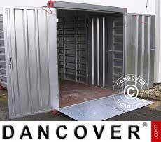 Zweiflügelige Containertür