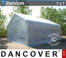 Lagerzelt Titanium 7x7x2,5x4,2 m