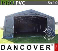 Lagerzelt PRO 5x10x2x2,9 m, PVC