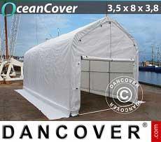 Bootszelt Oceancover 3,5x8x3x3,8m, Weiß