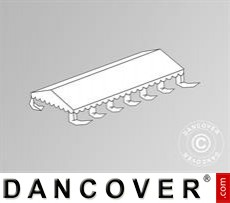 Dachplane für das Partyzelt Exclusive CombiTents™ 6x12m, Weiß