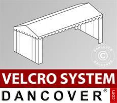 Dachplane mit Klettverschluss für Plus-Partyzelt 6x12m, Weiß