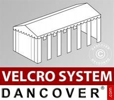 Dachplane mit Klettverschluss für SEMI PRO Plus CombiTents® Partyzelt 8x12m,...